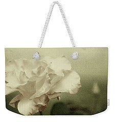 Faded Rose Weekender Tote Bag by Mary Wolf
