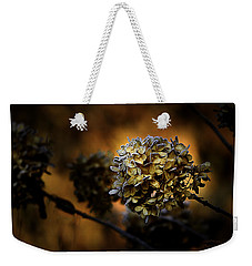 Weekender Tote Bag featuring the photograph Fading Away by Julie Palencia