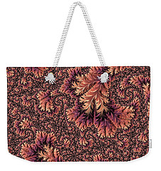 Weekender Tote Bag featuring the digital art Faerie Forest Floor Ill by Susan Maxwell Schmidt