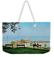 Fairhope Alabama Pier Weekender Tote Bag