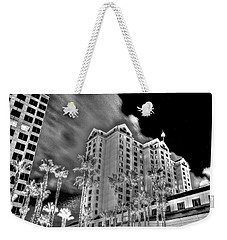 Fairmont From Plaza De Cesar Chavez Weekender Tote Bag