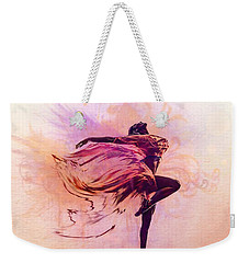 Fairy Dance Weekender Tote Bag by Lilia D