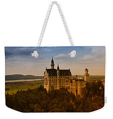 Fairy Tale Castle Weekender Tote Bag by Miguel Winterpacht