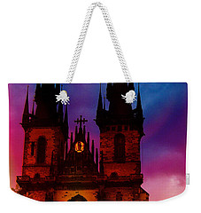 Fairy Tale Castle Prague Weekender Tote Bag