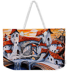 Fairy Tale City - Magic Stream Weekender Tote Bag