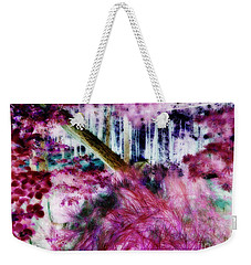 Weekender Tote Bag featuring the photograph Fairy Tropicolor by Jamie Lynn