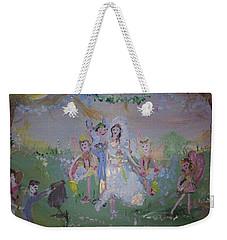 Fairy Wedding Weekender Tote Bag