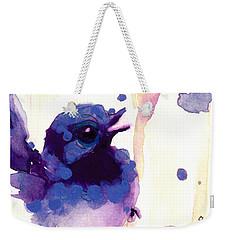 Fairy-wren Weekender Tote Bag by Dawn Derman