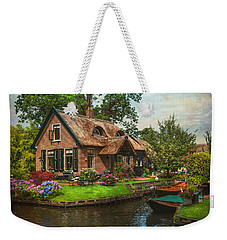 Fairytale House. Giethoorn. Venice Of The North Weekender Tote Bag