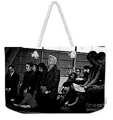 Faithful Fatherhood Weekender Tote Bag
