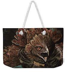 Falcon Opera  Weekender Tote Bag by Peter Suhocke