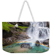 Fall And Rainbow Weekender Tote Bag