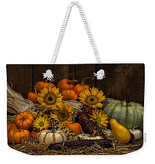 Fall Assortment Weekender Tote Bag