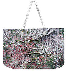 Weekender Tote Bag featuring the photograph Fall At Cades Cove by Todd Blanchard