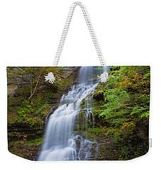 Fall At Cathedral Falls Weekender Tote Bag