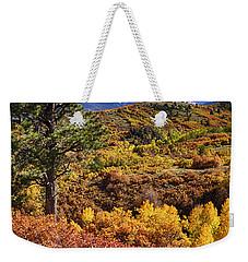Fall At Dallas Divide Weekender Tote Bag