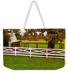 Fall At Eisenhower Farm Weekender Tote Bag