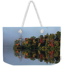 Fall At Heart Pond Weekender Tote Bag