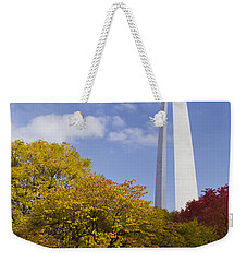 Fall At The St Louis Arch Weekender Tote Bag