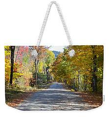 Fall Backroad Weekender Tote Bag