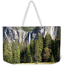 Weekender Tote Bag featuring the photograph Yosemite National Park-sentinel Rock by David Millenheft