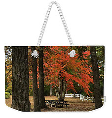 Fall Brings Changes  Weekender Tote Bag
