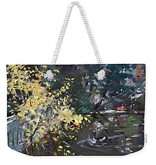 Fall By The Pond Weekender Tote Bag