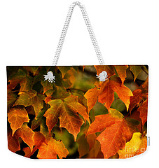 Fall Color Weekender Tote Bag