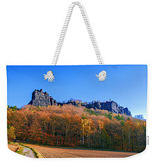 Fall Colors Around The Lilienstein Weekender Tote Bag