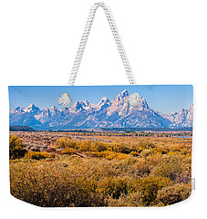 Fall Colors In The Tetons   Weekender Tote Bag