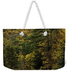 Fall Colors On Mohawk Trail Near Charlemont Weekender Tote Bag