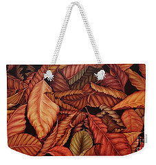 Fall Colors Weekender Tote Bag by Paula Ludovino