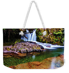 Fall Creek Oregon Weekender Tote Bag