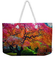 Fall Crowning Glory  Weekender Tote Bag