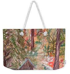 Fall Day Weekender Tote Bag