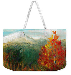 Fall Day Too Weekender Tote Bag