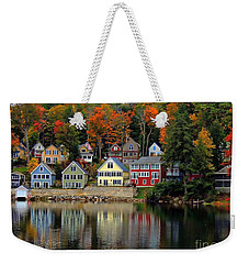 Fall Days Weekender Tote Bag