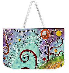 Fall Equinox Weekender Tote Bag by Shawna Rowe