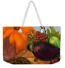 Fall Festival Weekender Tote Bag