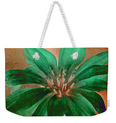 Fall Flower 2 Weekender Tote Bag by WB Johnston