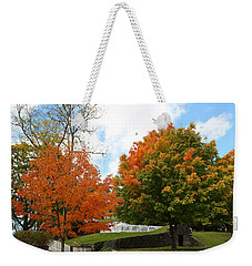 Fall Foliage Colors 09 Weekender Tote Bag