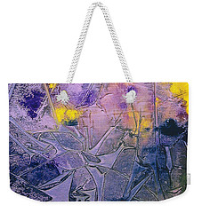 Fall Frost Dancing Weekender Tote Bag by Heather  Hiland
