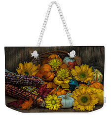 Fall Has Arrived Weekender Tote Bag