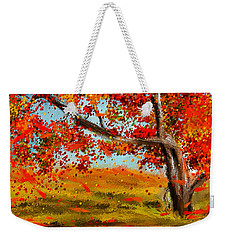 Fall Impressions Weekender Tote Bag