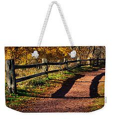 Fall In Chicago Weekender Tote Bag