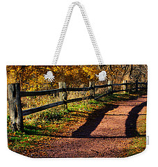 Fall In Chicago Weekender Tote Bag