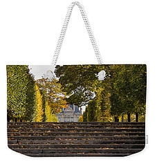 Weekender Tote Bag featuring the photograph Fall In Paris by Glenn DiPaola