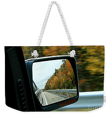 Fall In The Rearview Mirror Weekender Tote Bag