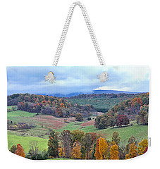 Weekender Tote Bag featuring the photograph Fall In Virginia by Denise Romano