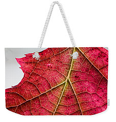 Fall Leaf Weekender Tote Bag